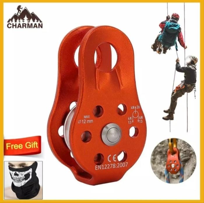 Jual Climbing Safety Alat Panjat Tebing Roll Ascender Katrol Tali 12mm Kota Surabaya Wirstore2020 Tokopedia