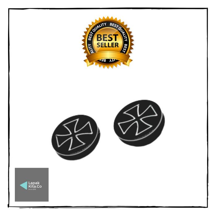 Foto Produk Anting Magnet / Anting Magnet Pria Model Cross / Piercing Magnetic dari LapakKita.co