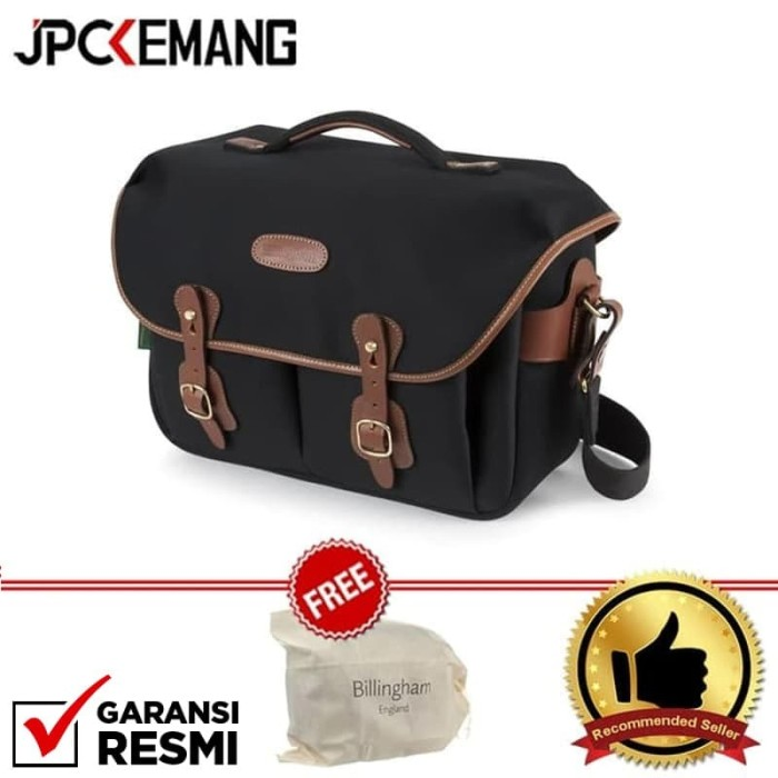 Foto Produk Billingham Hadley One Black/Tan Camera Bag 100% Handmade in England dari JPCKemang