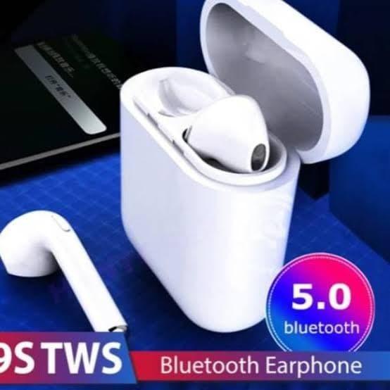 Foto Produk i9s TWS Headset Bluetooth Wireless Sport True Earphone Airpods TWS i9 dari BOS best online sista