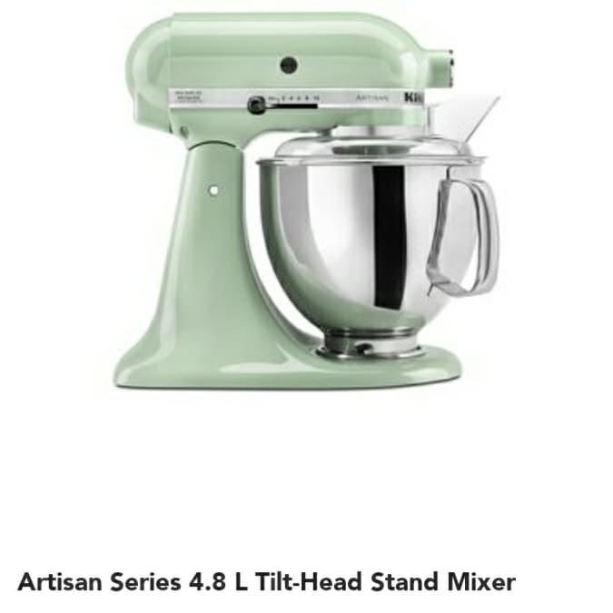 Jual Kitchenaid Stand Mixer Series Artisan 4 8 Liter 5ksm150psbpt