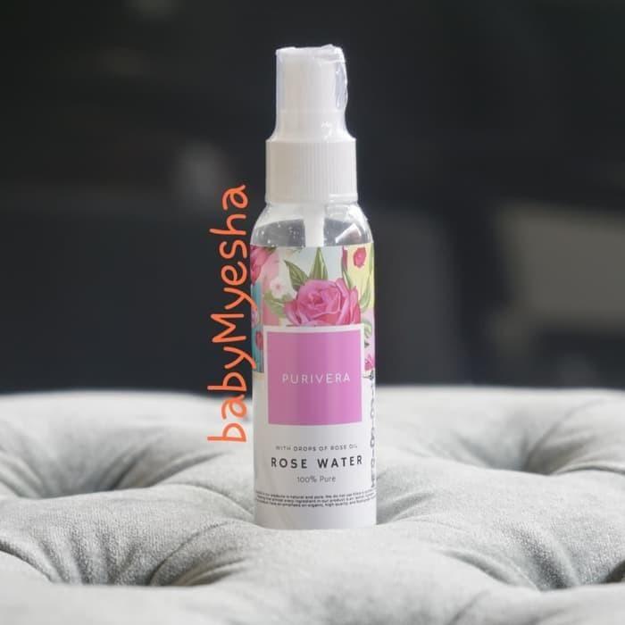 Jual Paling Laku Purivera 100 Rose Oil Water Face Mist Setting Spray Jakarta Barat Toko Kila Shop Tokopedia
