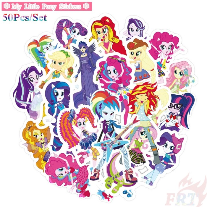 Jual My Little Pony Sticker B 50pcs Set Cartoon Mixed Luggage Kab Bogor Glovy Tokopedia