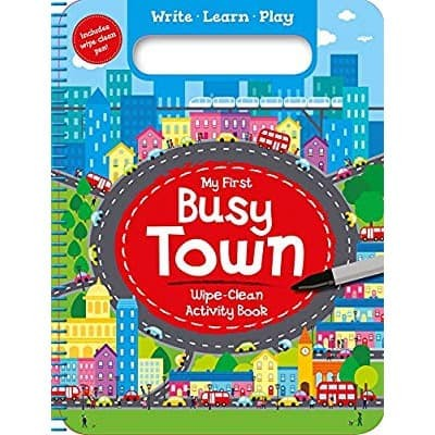 Foto Produk My FIrst Busy Town - Big Bad Wolf dari ombotak