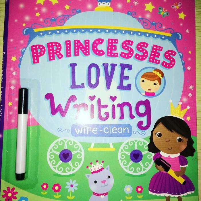 Foto Produk [Buku] Princesses Love Writing. Wipe-Clean - Big Bad Wolf dari ombotak