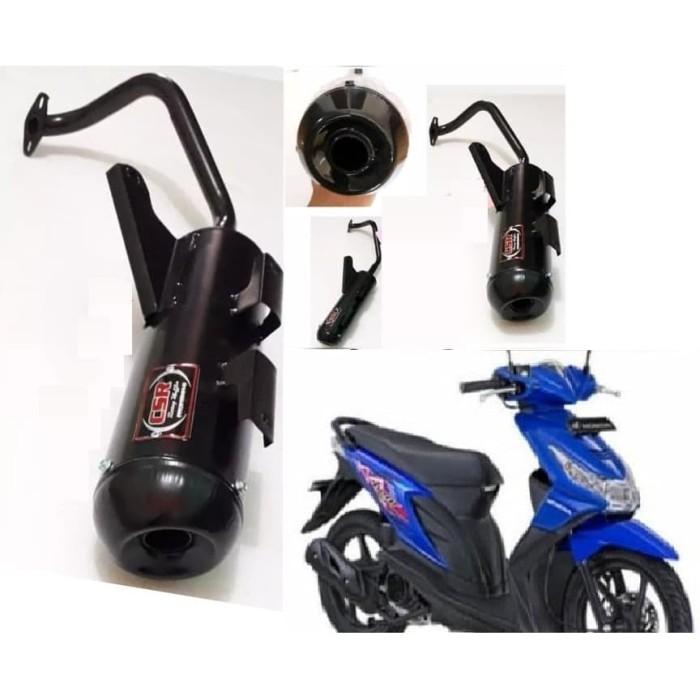 Foto Produk Knalpot Racing Bobokan untuk motor Beat lama/kenalpot beat karbu dari zaky online shops