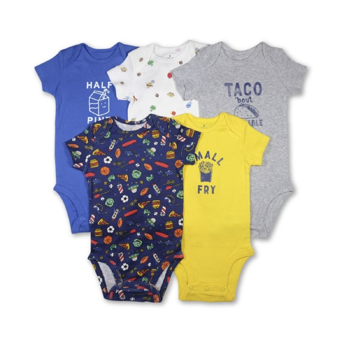 Jual Carters 5in1 Romper Blue And Yellow Half Pint 18 24 Bulan Kota Bandung Baby S Day Out Store Tokopedia