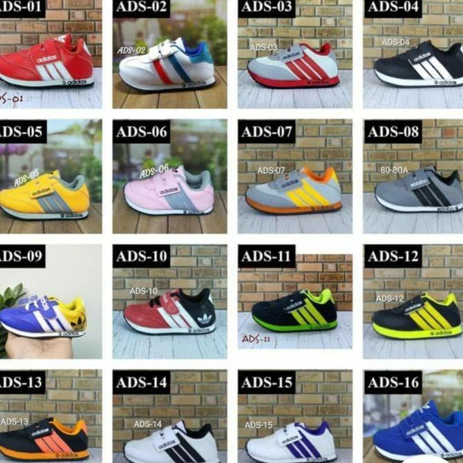 Jual Best Seller Sepatu Adidas Anak Laki Dan Perempuan Size 24 S D 37 Jakarta Barat Malee Int Store Tokopedia