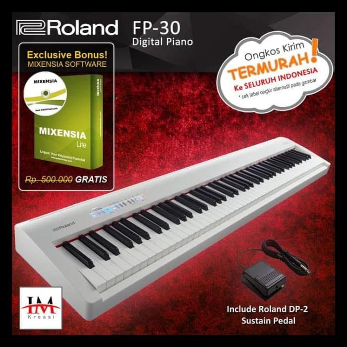 Jual Big Sale Roland Fp 30 Fp30 Digital Piano Hitam Teruji Jakarta Barat Busyra Berkah2 Tokopedia