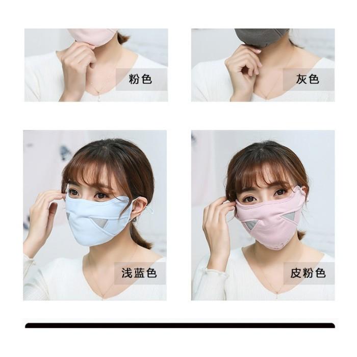Foto Produk Masker Mulut Pria Wanita Anti Debu Debu Bahan Katun untuk Lari Sepeda dari Tokoe Udin