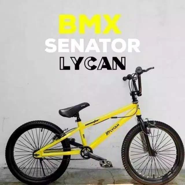 Foto Produk Sepeda BMX 20 Senator Lycan Rotor Khusus GOSEND BANDUNG dari bikezone shop