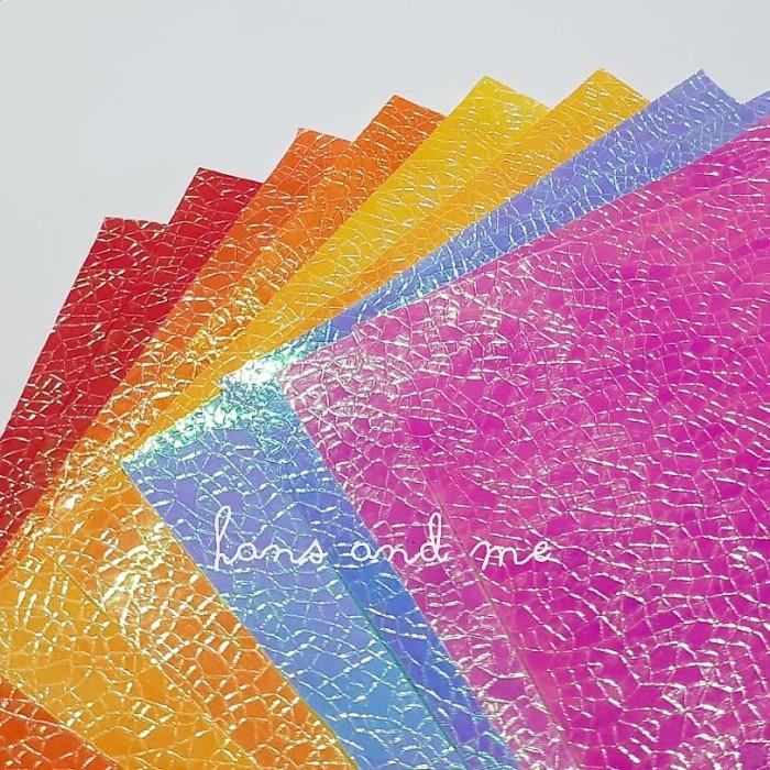 Foto Produk Kertas Gradasi Pelangi (jual per set) dari Hans and Me