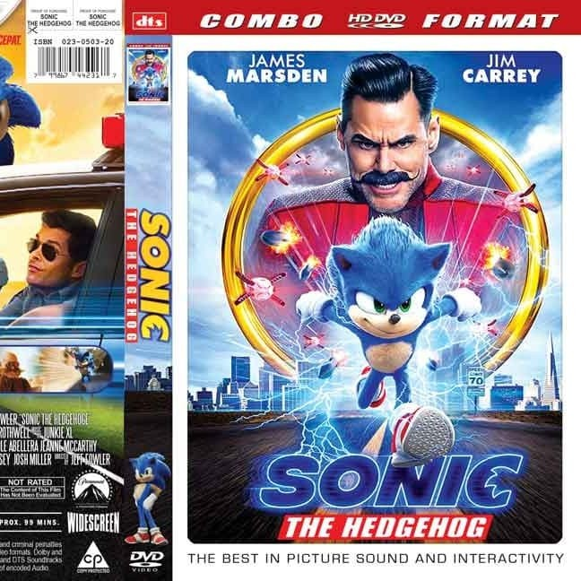 Foto Produk DVD Film Terbaru Film Sonic The Hedgehog HD Subtitle Indonesia dari FRIENDSTOREEE