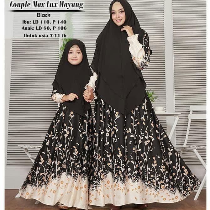 Jual Busana Muslim Wanita Gamis Syari Couple Ibu Dan Anak Mayang Terbaru Jakarta Barat Hima Muslim Tokopedia