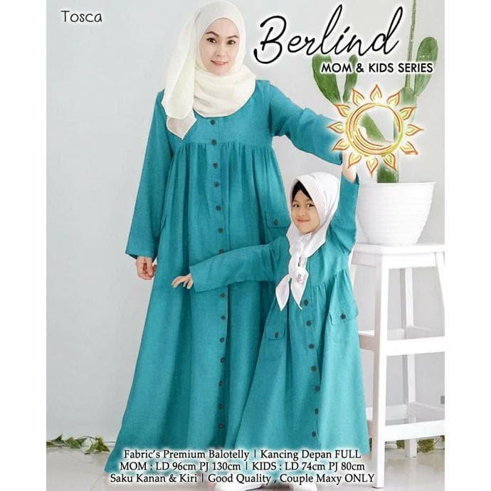 Jual Gamis Berlind Couple Baju Muslim Ibu Dan Gamis Anak Perempuan Tosca Jakarta Barat Padma Store Tokopedia