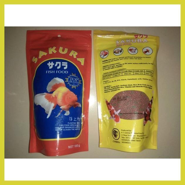 Jual Hot Makanan Ikan Sakura Fish Food 100gram Jakarta Pusat Sukistosuk21 Store Tokopedia