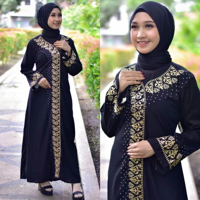 Jual Abaya Gamis Arab Saudi Bordil Jetblack Baju Muslim Wanita Kab Mojokerto Baariklie Tokopedia