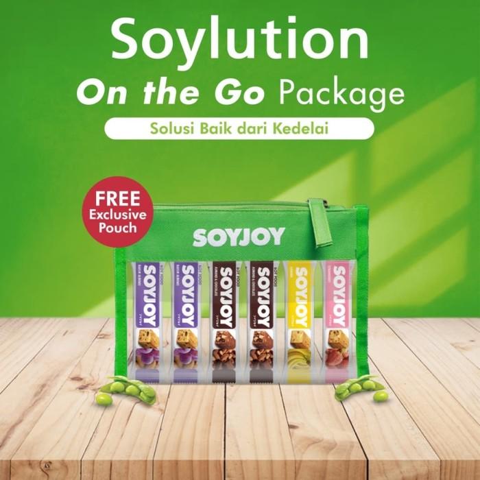 Foto Produk SOYJOY MIX Bundle Pack isi 6 Bar - FREE POUCH dari Toko Otsuka