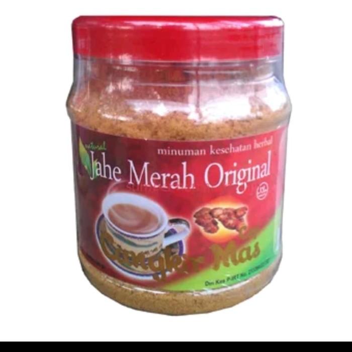 Foto Produk JAHE MERAH ORIGINAL INSTAN CAP CANGKIR MAS dari Toko Obat Herbal Sehat