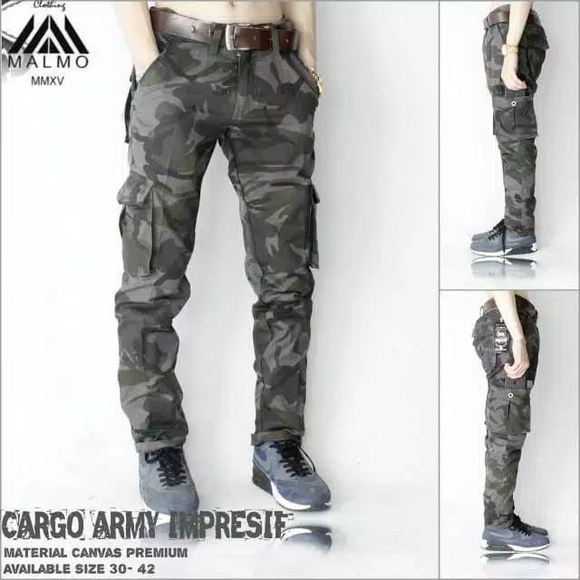 Foto Produk Celana Cargo Loreng Army Premium - AR1, 28 dari JarshOfficial