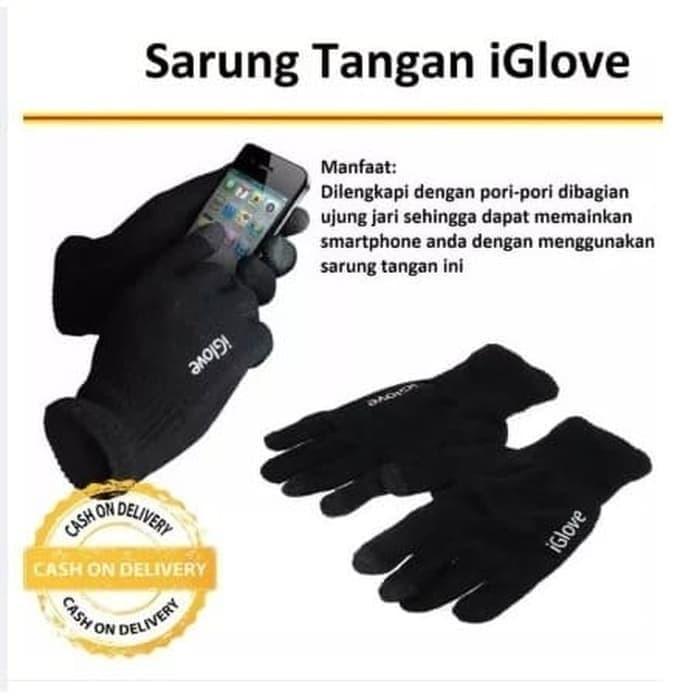 Foto Produk iGlove Sarung Tangan Touch Screen Sarung Tangan Bisa Sentuh Layar HP dari grosirltc