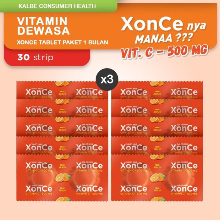 Foto Produk Xonce Tablet Paket 1 Bulan dari Kalbe Consumer Health