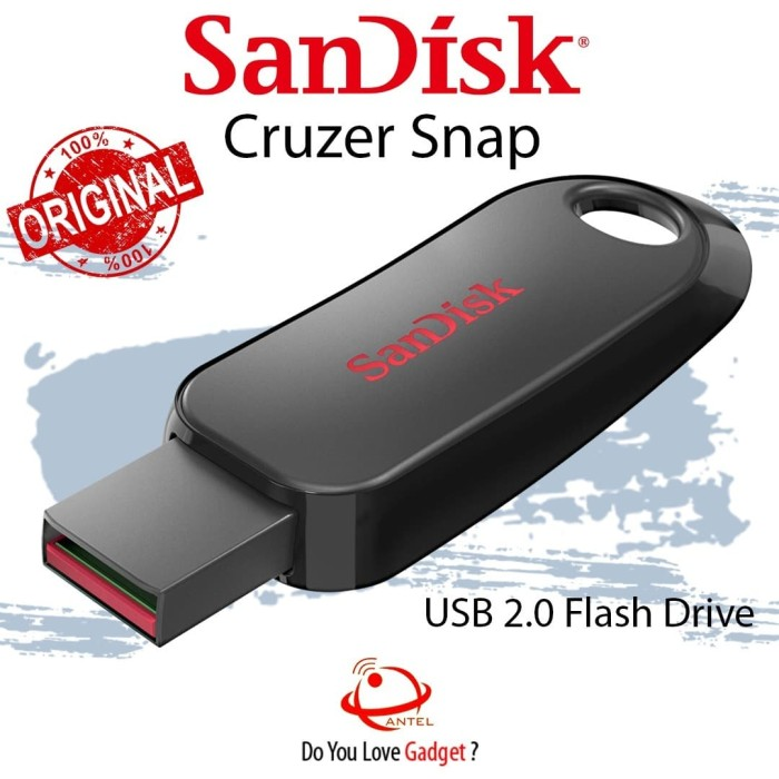 ** SanDisk Cruzer Snap USB Flash Drive Green 64 GB