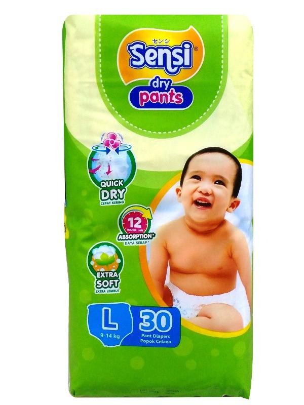 Foto Produk (27256) BABY PANTS SENSI L 30`S REG dari SWALAYAN MAJU BERSAMA