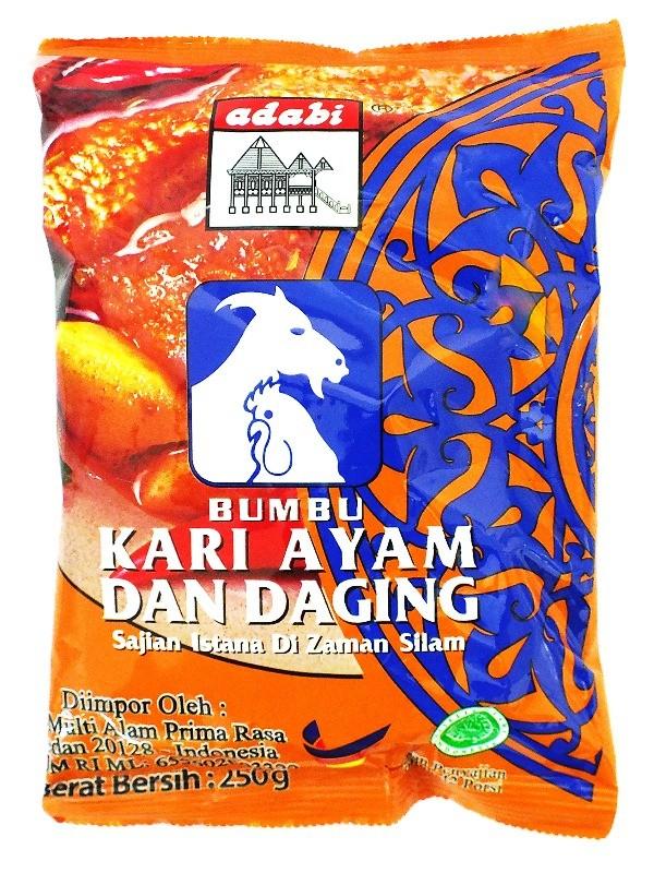 Foto Produk (23619) BUMBU ADABI 250GR KARI AYAM&DAGING SACHET dari SWALAYAN MAJU BERSAMA