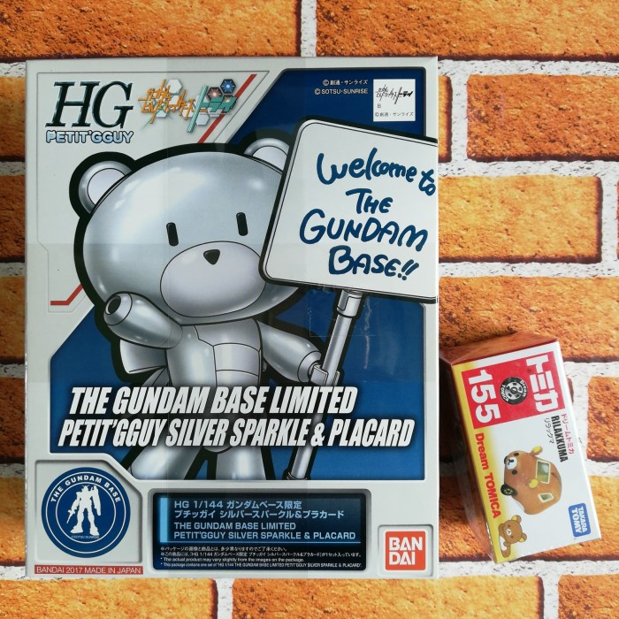 Foto Produk HG Petitgguy Gundam Base Limited + Rilakkuma SET (nego) dari Saudagar Waifu