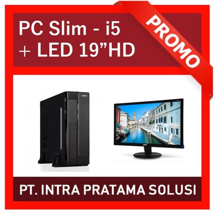 "Foto Produk Mini PC Core i5-3470 + RAM 8GB + HDD 500GB + LED 19"" dari PT. Intra Pratama Solusi"