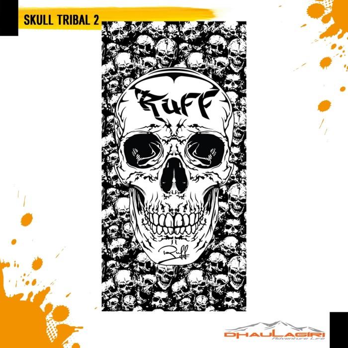 Foto Produk Dhaulagiri Ruff Adventure Series Skull Tribal 02 2016 Masker Serbaguna dari Dhaulagiri official