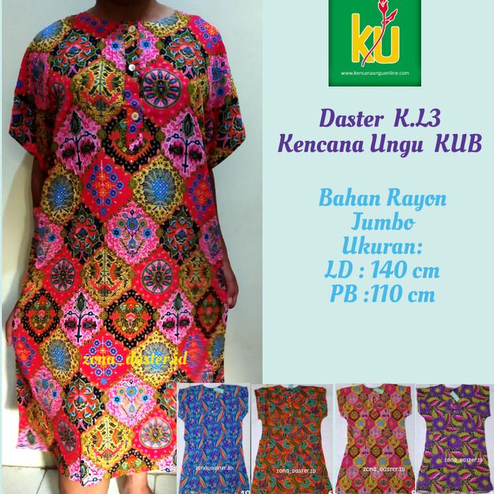 Foto Produk Daster Kencana Ungu Jumbo L3 Label Biru (100% Original Kencana ungu) dari zona_daster.id