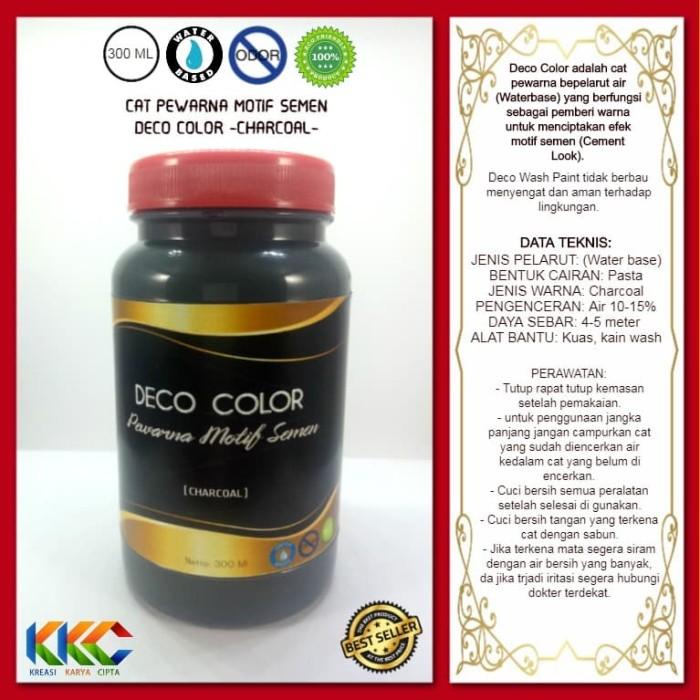 Foto Produk Deco Color - Pewarna Cat Efek Motif Semen - Kemasan 400 Gram dari kkc olshop