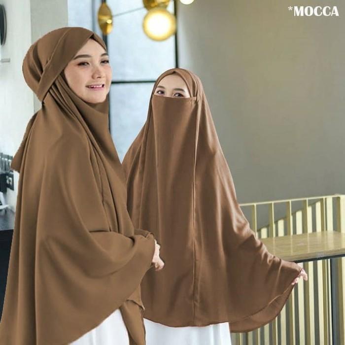 Jual Jilbab Hijab Kerudung Bergo Instan French Khimar Cadar Madinah Syari Kota Bandung Ns Collections Tokopedia