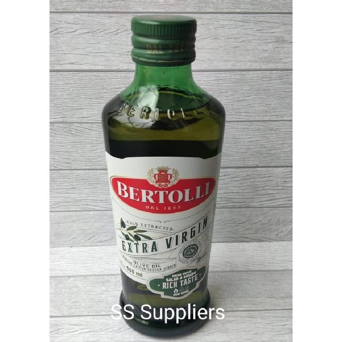 Foto Produk Bertolli Extra Virgin Olive Oil / Minyak Zaitun 500 ML BEST SELLER! dari SS Suppliers F&B Jakarta