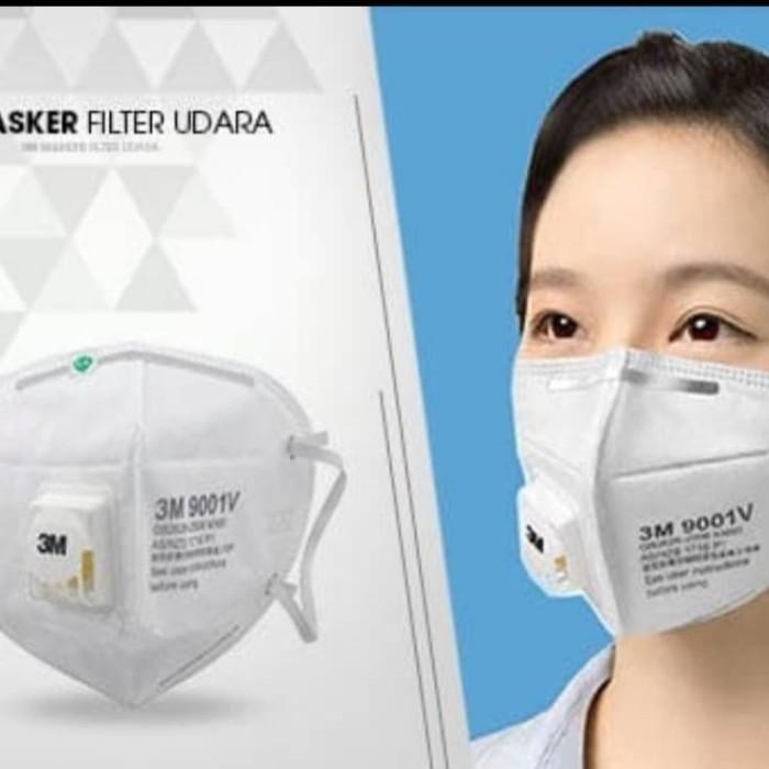 Foto Produk Masker 3M 9001V N95 dari The Plug