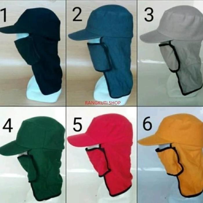 Foto Produk Topi Masker/Topi Jepang/Topi Mancing dari grosirtopibandung