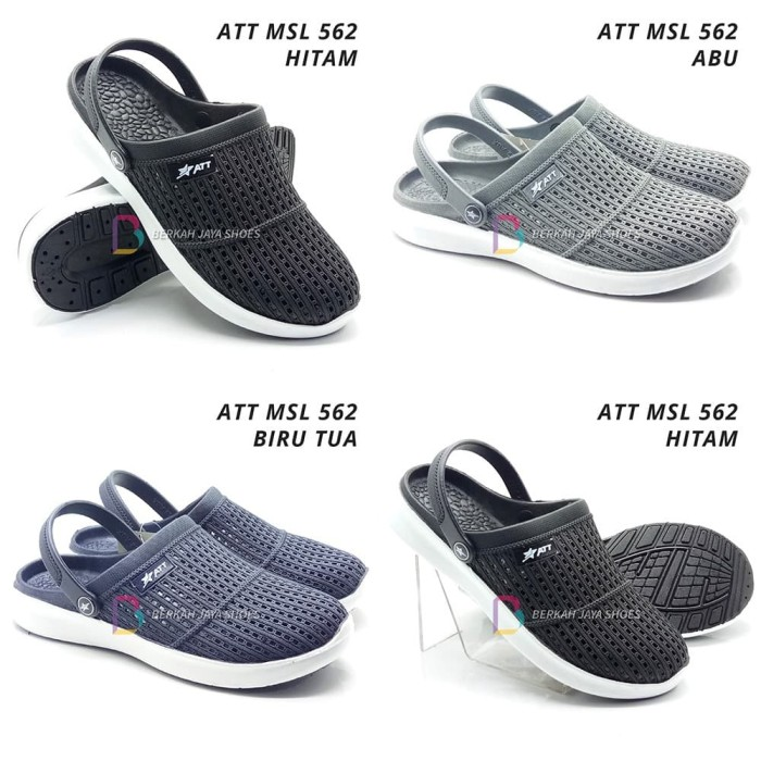 Jual Sepatu Sandal Karet Sepatu Sandal Pria Att 562 Varian Warna