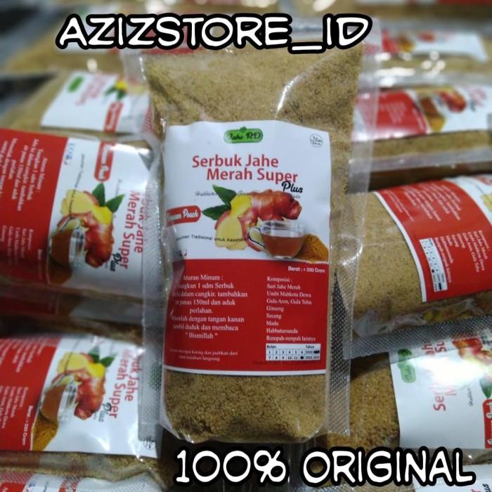 Foto Produk Jahe merah super RD 330gram kemasan pouch Original dari AzizStore_ID