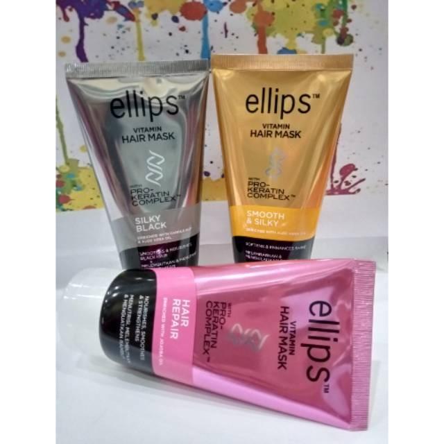 Jual Ellips Vitamin Hair Mask Pro Keratin Complex 120g Masker Rambut Kota Surakarta Silotech Tokopedia