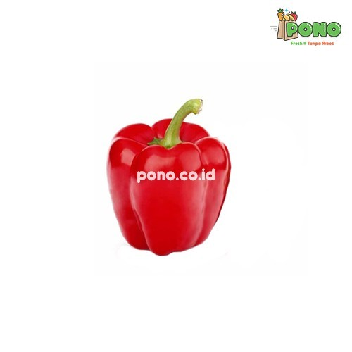 Foto Produk Paprika Merah 1 pcs dari Pono Area Solo