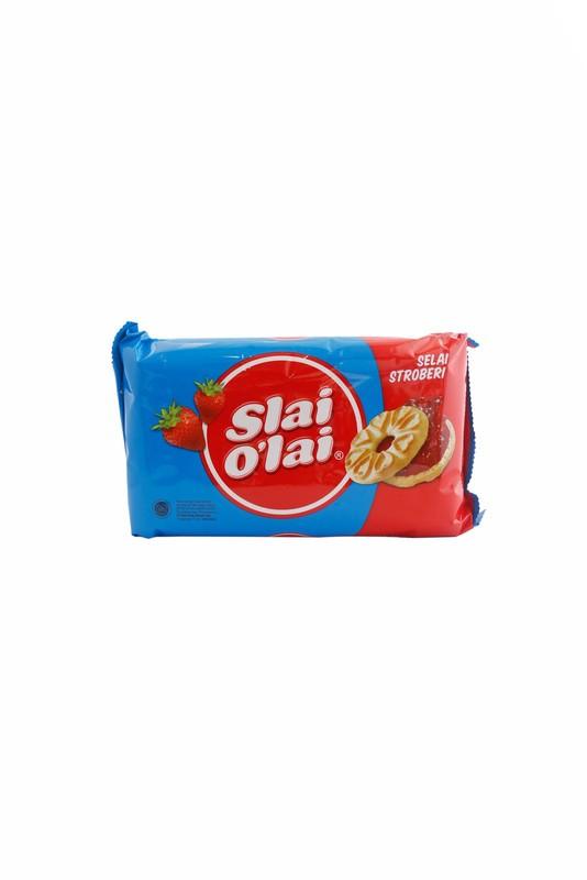 Foto Produk ROMA SLAI OLAI STRAWBERRY 240G (1C=20PCS) dari Yogya Online Supermarket