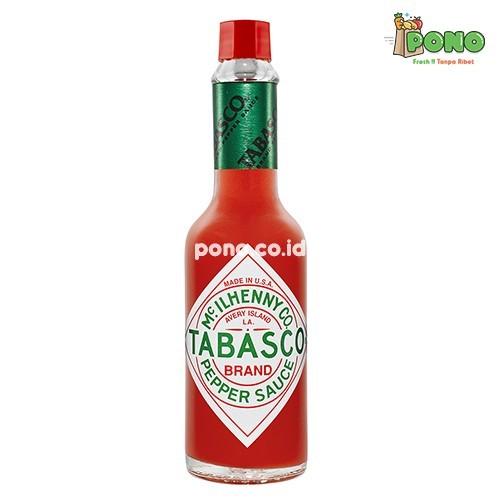Foto Produk Tabasco Pepper Sauce 60ml/btl dari Pono Area Solo
