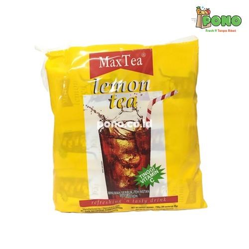 Foto Produk Max Tea Lemon Tea 30 sachet/pack dari Pono Area Solo