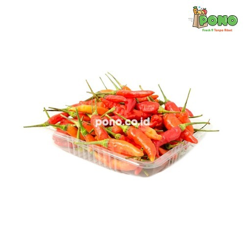 Foto Produk Cabe Rawit Merah 250gr dari Pono Area Solo