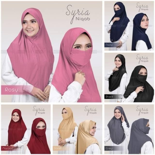 Foto Produk Syiria Niqab malaya dari Arshiya Store