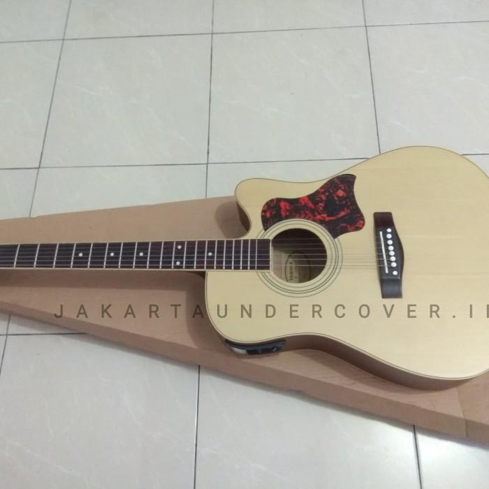 Foto Produk Gitar akustik elektrik F310 yamaha natural doff dari JakartaUndercover.id
