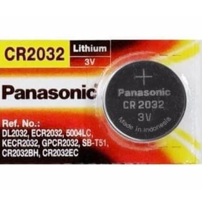 Foto Produk Baterai Kancing CMOS Panasonic CR-2032 (3V) dari Daf daf shop