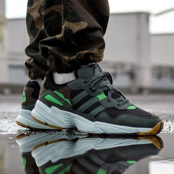 Jual Adidas yung 96 core black Original